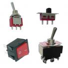 Interrupteurs à bascules et à glissière