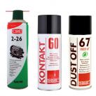 Spray d'entretien et résine