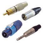 Connecteurs audio
